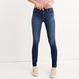 Madewell high riser skinny Jeans SZ 25